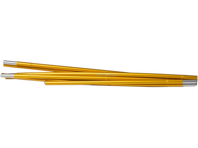 Hilleberg Anjan 3/3 GT/ Nallo 3/3 GT/Kaitum 3/3 GT Arceaux de remplacement 328cm x 9mm, gold